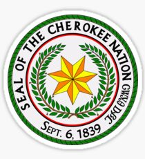 Cherokee Nation Sticker