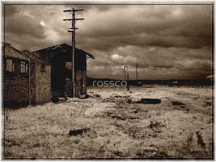 Faded Past by rossco