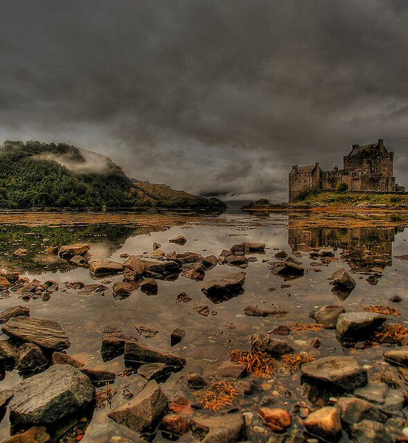 Eilean Donan Castle by David James
