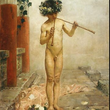 Arcadi Mas I Fondevila - Pompeian Child Rome, 1879 by artcenter
