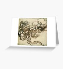 Arthur Rackham - Snowdrop And Other Tales Greeting Card