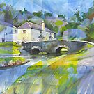 Bridge at Old Mill Bridge by Bernard Barnes