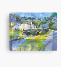 Bridge at Old Mill Bridge Canvas Print
