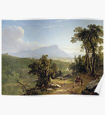 Asher Brown Durand - Landscape - Composition In The Catskills Poster
