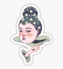Baby Doll no. 7 (Without Background) Sticker