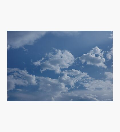 Soft Clouds Photographic Print