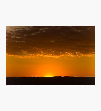 Sunset over Hampton Photographic Print