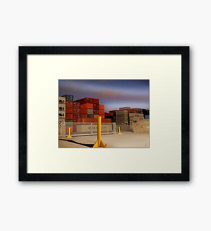 Sommerville Rd Framed Print