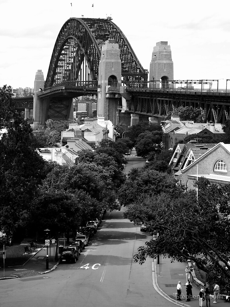 Sydney Harbour Bridge from The Rocks by Stephen Kilburn