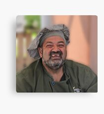 Smiling Chef Canvas Print