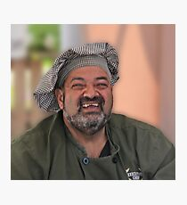 Smiling Chef Photographic Print