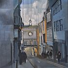 Totnes Clock Tower by Bernard Barnes