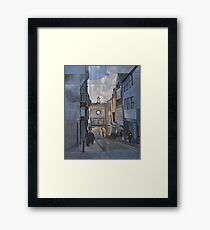 Totnes Clock Tower Framed Print