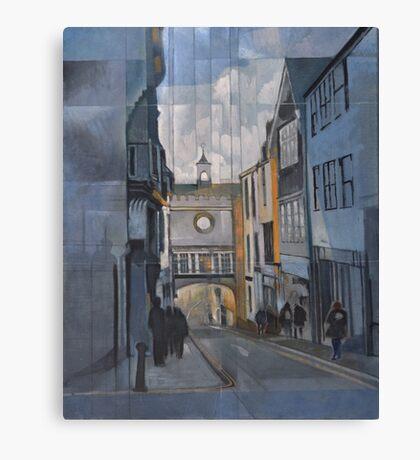 Totnes Clock Tower Canvas Print