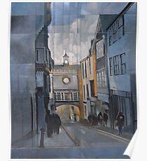 Totnes Clock Tower Poster