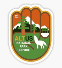 Pegatina ALT National Park Service
