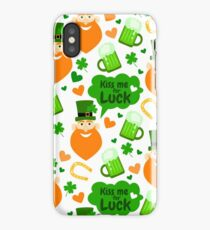 Funny Patrick's Day.  iPhone Case/Skin