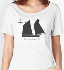 West Country Lugger 1887 by Tony Fernandes Women's Relaxed Fit T-Shirt
