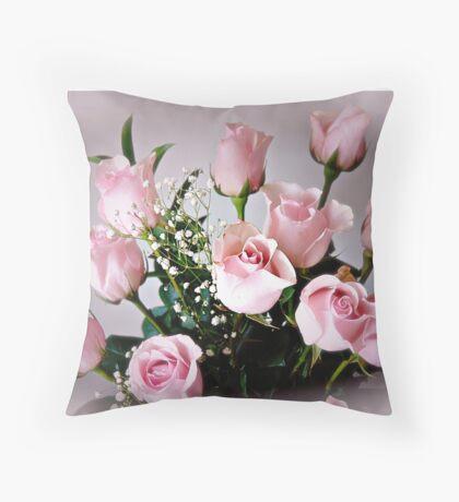 Roses bring love ! Throw Pillow