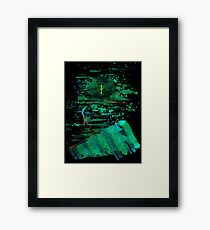 WDV - 338 - Interjection Framed Print