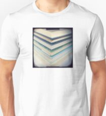 Blue chevrons Unisex T-Shirt