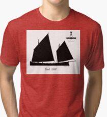 Yawl 1890 by Tony Fernandes Tri-blend T-Shirt