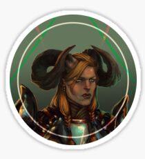 Dragon Age - Qunari Portrait Sticker