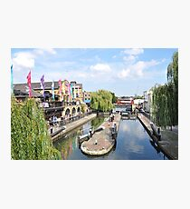 Camden Lock Market Photographic Print