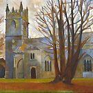 Dartington Church, Devon by Bernard Barnes