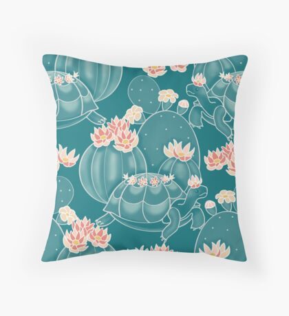 Find a tortoise  Throw Pillow