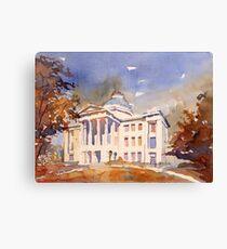 Raleigh Capitol building- North Carolina (USA) Canvas Print