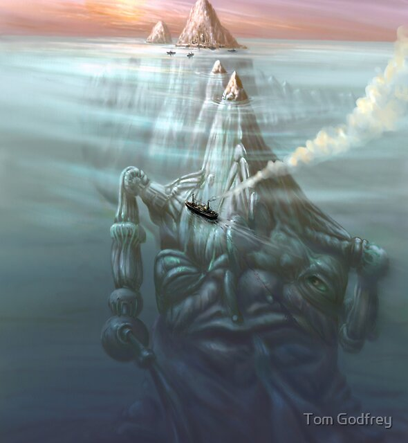 Creature in Repose by Tom Godfrey