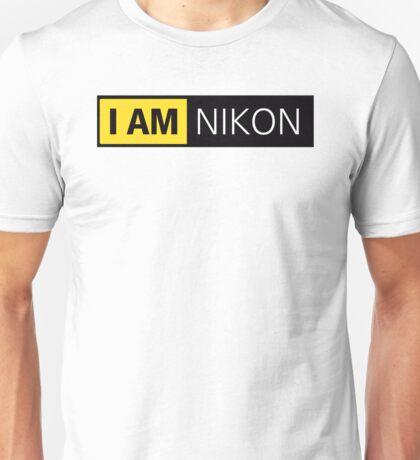 nikon i am nikon Unisex T-Shirt