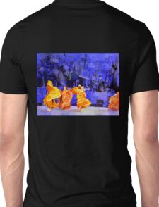 Dancers- Guadalajar, Mexico.  Watercolor painting. Unisex T-Shirt
