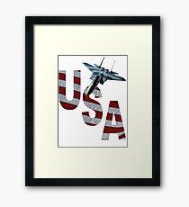 US Air Force F-15  Framed Print