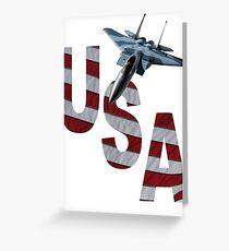 US Air Force F-15  Greeting Card