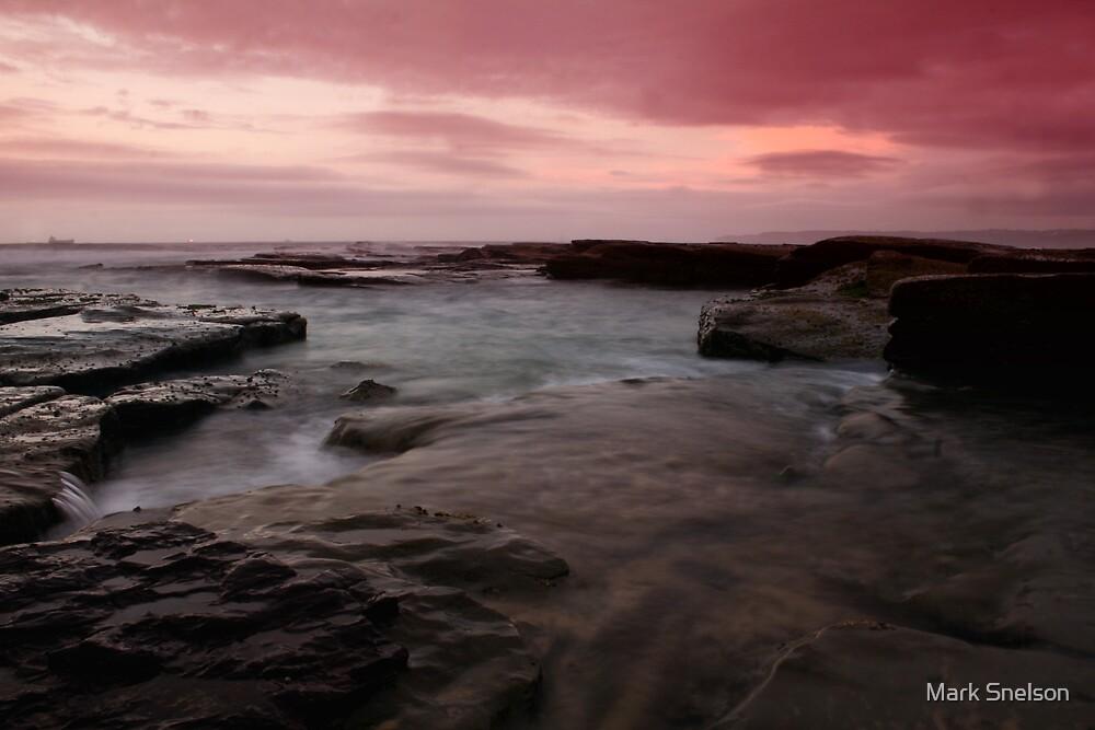 Beach Morning 4 by Mark Snelson