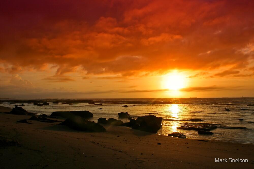 Beach Morning 6 by Mark Snelson