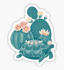 Finde eine Schildkröte Sticker