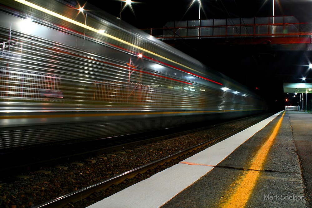 Night Train 2 by Mark Snelson