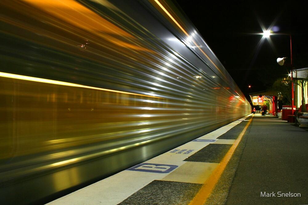 Night Train 3 by Mark Snelson