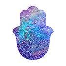 «Space Hamsa Hand - II» de maryedenoa