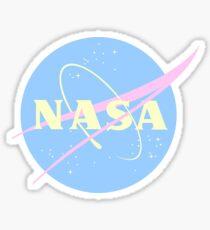 Pastel NASA  Sticker