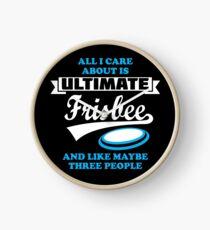 Reloj Todo lo que me importa es Ultimate Frisbee Funny Gifts