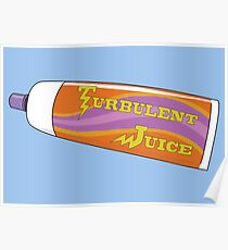 Rick and Morty – Turbulent Juice Tube Poster