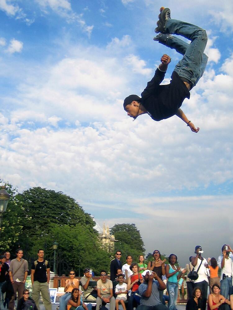 Skaters in Paris by applejuice