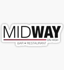 Midway on High Sticker