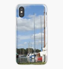 BOATS AT THE NATIONAL TRUST iPhone Case/Skin