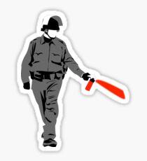 pepper spray Sticker