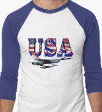 US Air Force Thunderbirds Men's Baseball ¾ T-Shirt